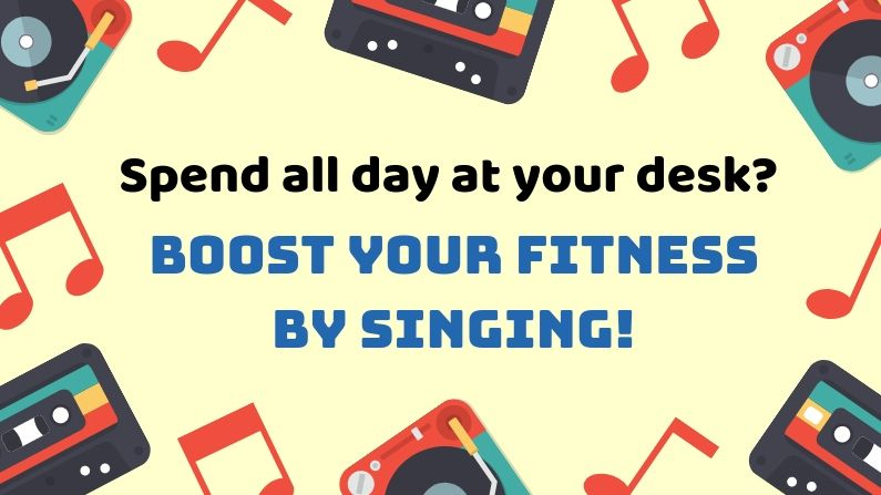 Improve your fitness with singing