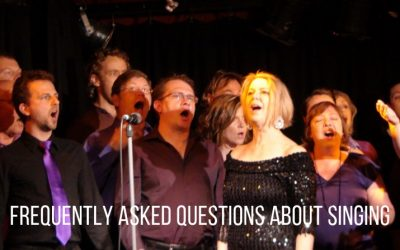 Frequently asked questions about singing